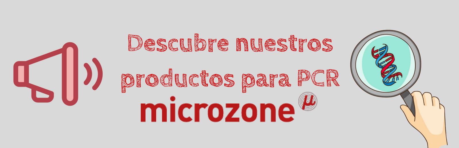 microzone, biología molecular, DNA, taq polimerasa, PCR