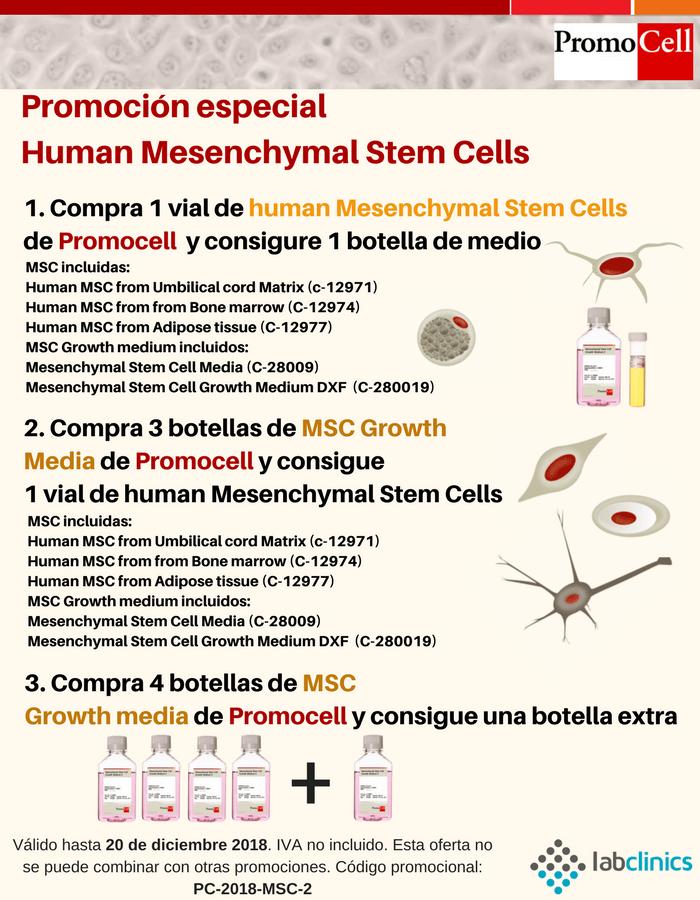 promocell, oferta, células mesenquimale, cultivo primario, cultivo celular, in vitro