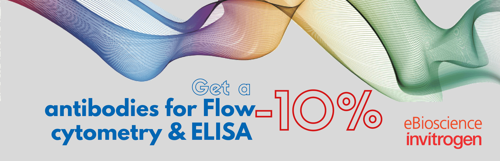 discount, antibodies, ELISA, flow citometry, promotion, offer, invitrogen, eBioscience,