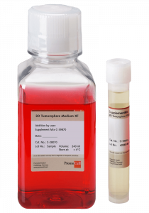 cell medium, cell culture, cancer, 3d, tumorsphere, tumoresferas, Promocell, ready to use, in vitro, cells, primary cell culture