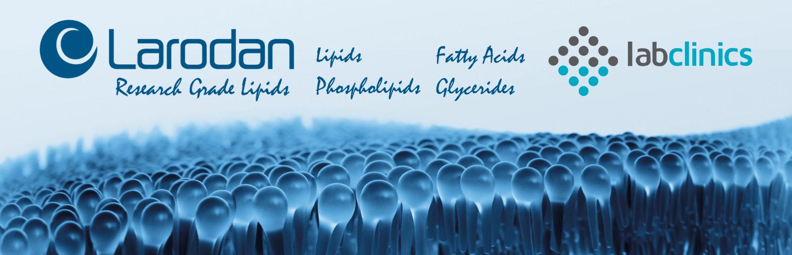 Larodan, lipids, phospholipids, fatty acids, glycerides, Spain, Portugal, lípidos, fosfolípidos, ácidos grasos, glicéridos